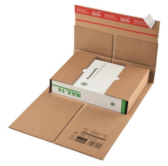 CP 035.05 - Colompac Reinforced Book Wrap - 350 x 320 x 80mm