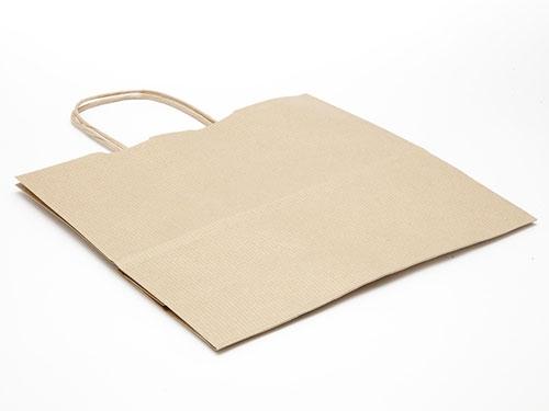 250 x 240 x 110mm - Premium Ribbed Kraft Paper Gift Bags