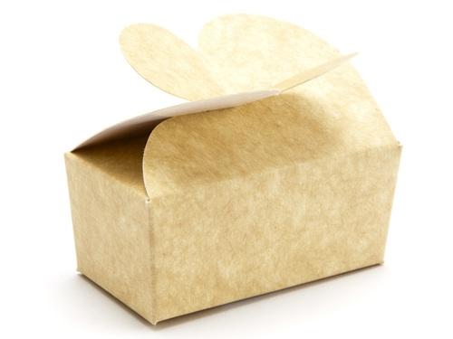 66 x 33 x 31mm - Natural Kraft Butterfly Ballotin Gift Boxes