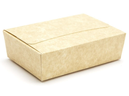 104 x 71 x 32mm - Natural Kraft Ballotin Gift Boxes