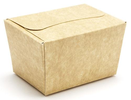 78 x 54 x 52mm - Natural Kraft Ballotin Gift Boxes