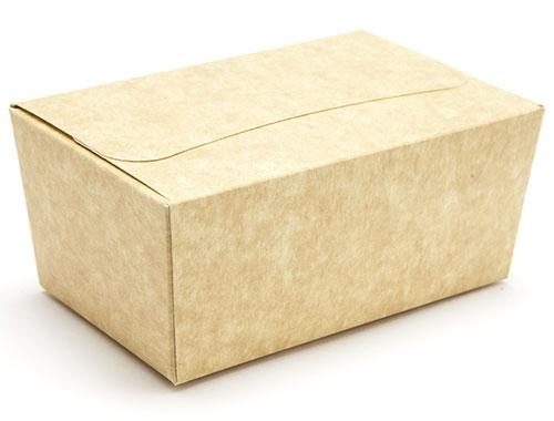 120 x 74 x 57mm - Natural Kraft Ballotin Gift Boxes