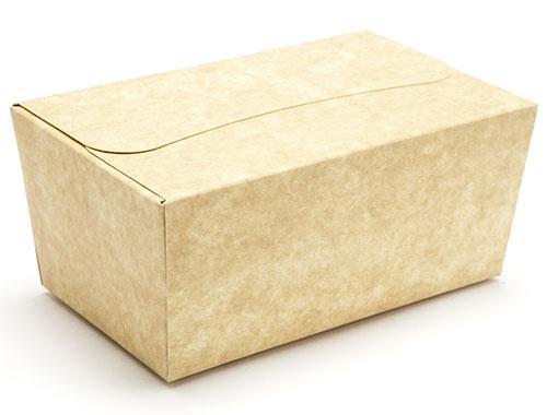 135 x 78 x 65mm - Natural Kraft Ballotin Gift Boxes