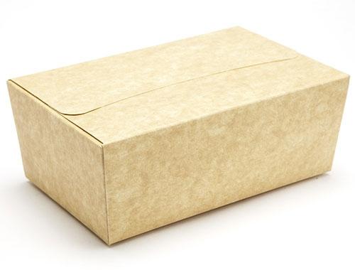 156 x 95 x 65mm - Natural Kraft Ballotin Gift Boxes