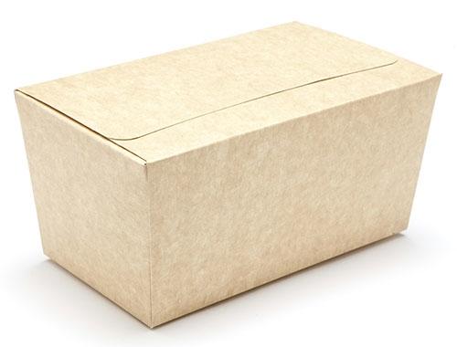 Decorations 160 x 90 x 85mm - Natural Kraft Ballotin Gift Boxes - 20 Ballotins