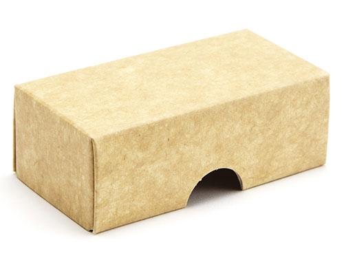 78 x 41 x 32mm - Natural Kraft Gift Boxes - Lid