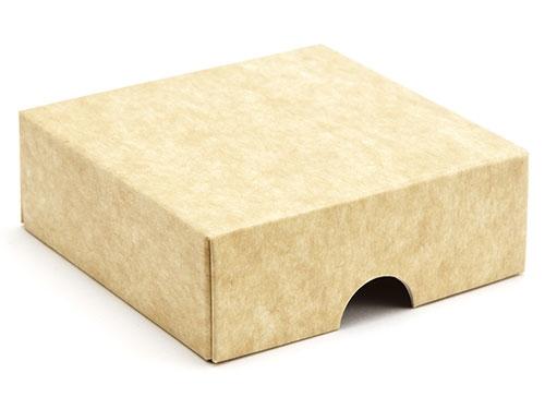 78 x 82 x 32mm - Natural Kraft Gift Boxes - Lid