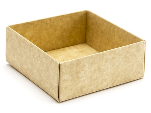 78 x 82 x 32mm - Natural Kraft Gift Boxes - Base
