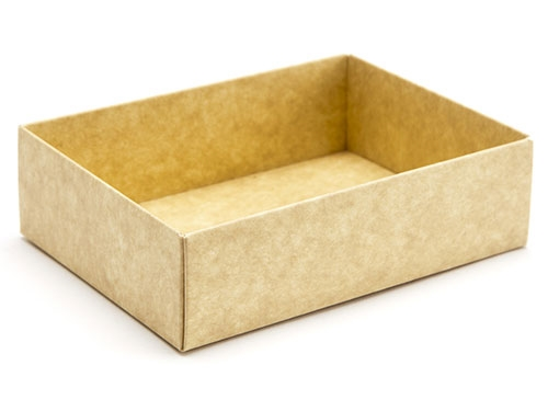 112 x 82 x 32mm - Natural Kraft Gift Boxes - Base