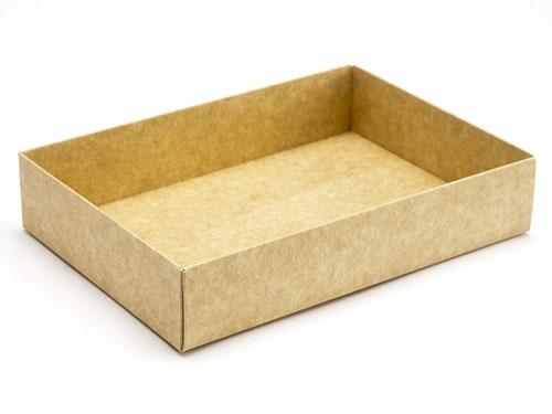 159 x 112 x 32mm - Natural Kraft Gift Boxes - Base