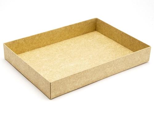 221 x 159 x 32mm - Natural Kraft Gift Boxes - Base