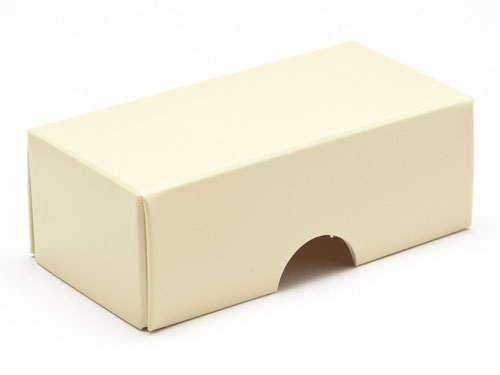 78 x 41 x 32mm - Cream Gift Boxes - Lid
