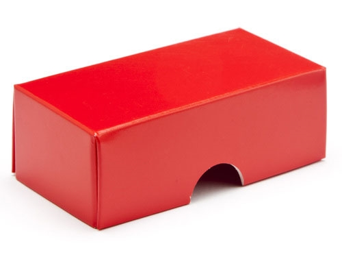 78 x 41 x 32mm - Red Gift Boxes - Lid