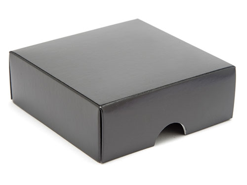 78 x 82 x 32mm - Black Gift Boxes - Lid