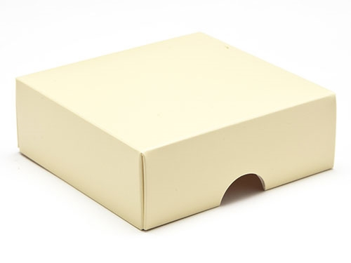 78 x 82 x 32mm - Cream Gift Boxes - Lid