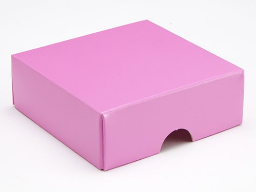 78 x 82 x 32mm - Pink Gift Boxes - Lid