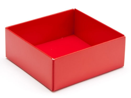 78 x 82 x 32mm - Red Gift Boxes - Base
