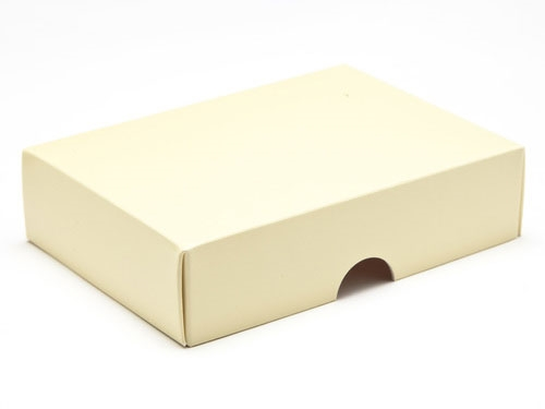 112 x 82 x 32mm - Cream Gift Boxes - Lid