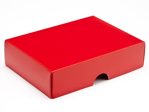 112 x 82 x 32mm - Red Gift Boxes - Lid