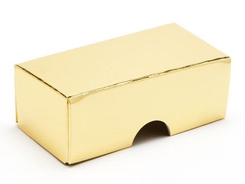 78 x 41 x 32mm - Gold Gift Boxes - Lid