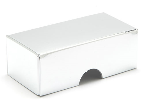 78 x 41 x 32mm - Silver Gift Boxes - Lid
