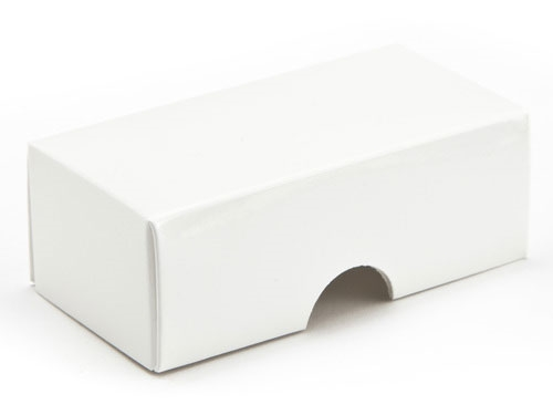 78 x 41 x 32mm - White Gift Boxes - Lid