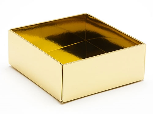 78 x 82 x 32mm - Gold Gift Boxes - Base