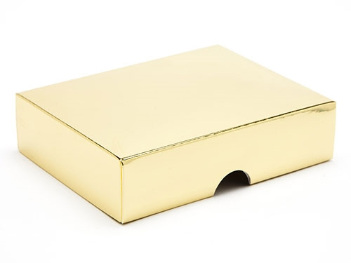 112 x 82 x 32mm - Gold Gift Boxes - Lid