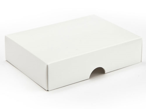 112 x 82 x 32mm - White Gift Boxes - Lid