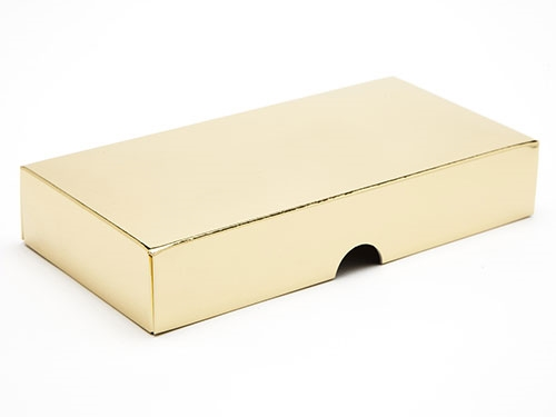 159 x 78 x 32mm - Gold Gift Boxes - Lid
