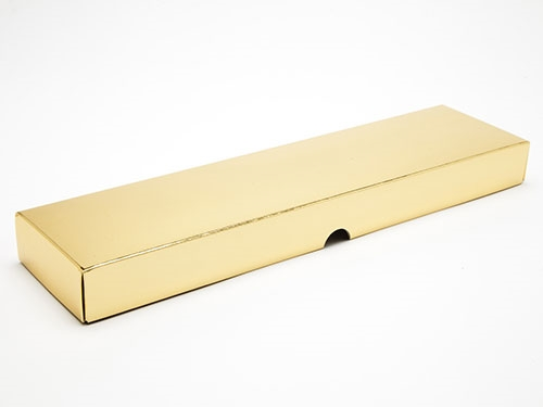 310 x 78 x 32mm - Gold Gift Boxes - Lid