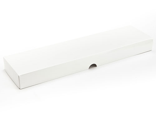 310 x 78 x 32mm - White Gift Boxes - Lid