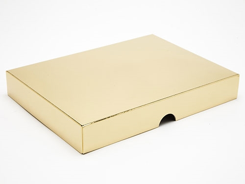 221 x 159 x 32mm - Gold Gift Boxes - Lid