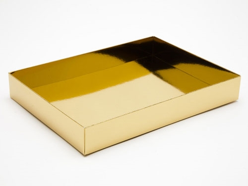 221 x 159 x 32mm - Gold Gift Boxes - Base