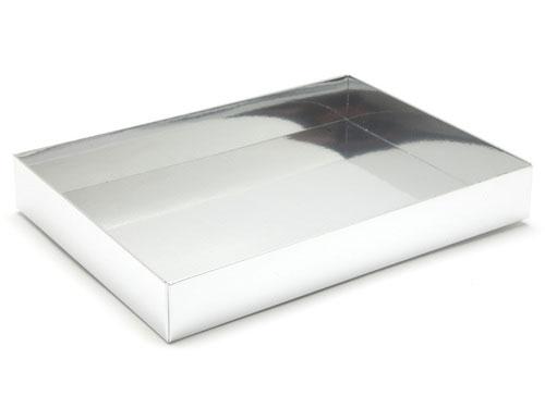 221 x 159 x 32mm - Silver Gift Boxes - Base