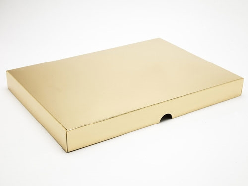 312 x 217 x 32mm - Gold Gift Boxes - Lid