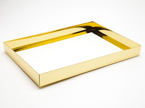 312 x 217 x 32mm - Gold Gift Boxes - Base
