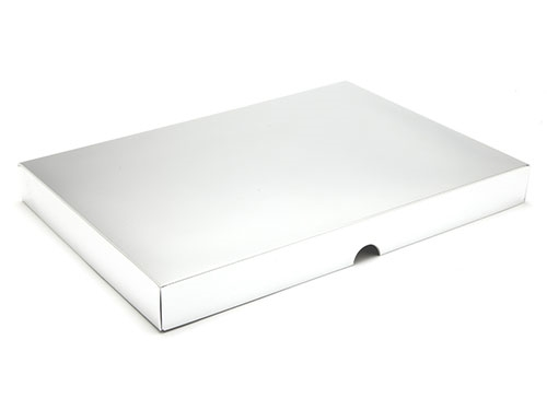 312 x 217 x 32mm - Silver Gift Boxes - Lid
