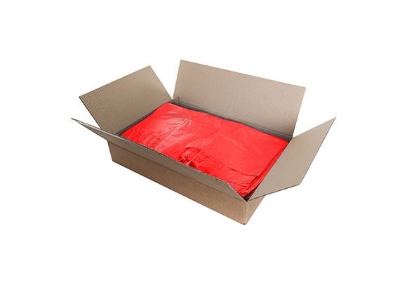 Red Recycled Refuse Sacks - 450 x 725 x 980mm - 2