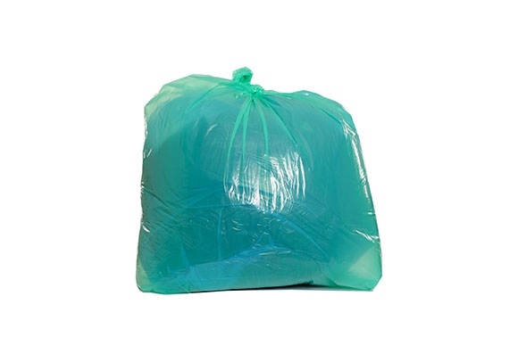 Green Recycled Refuse Sacks - 450 x 725 x 980mm