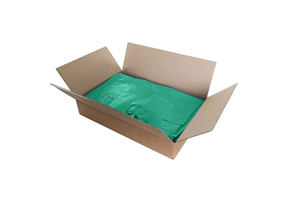 Green Recycled Refuse Sacks - 450 x 725 x 980mm - 2