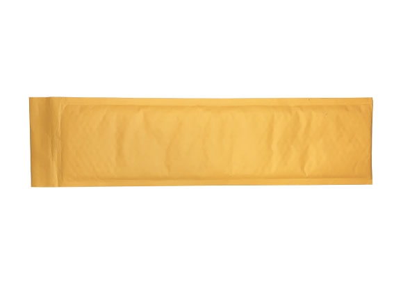 Number Plate Size Bubble Lined Bag - Gold - 3