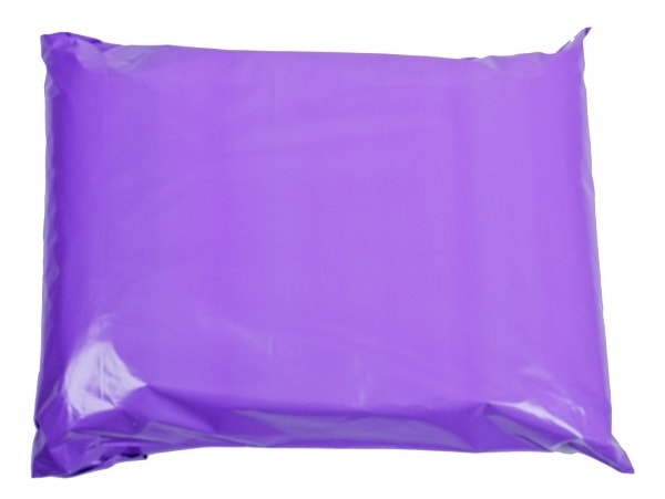 162 x 240mm Purple Poly Mailers