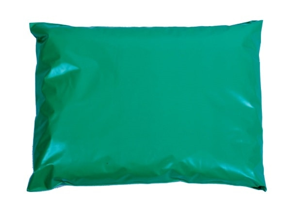 350 x 500mm Green Poly Mailers