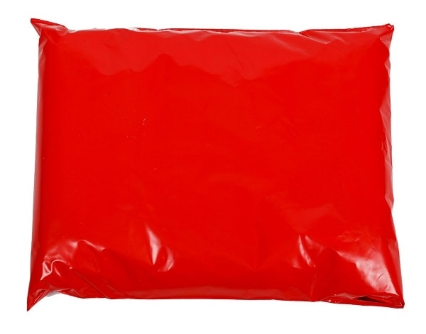 350 x 500mm Red Poly Mailers