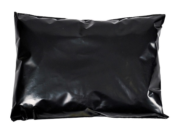 305 x 405mm Black Poly Mailers