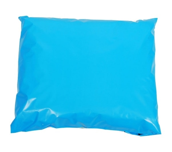 350 x 500mm Blue Poly Mailers