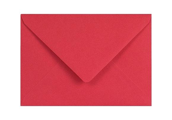 C5 Red Envelopes - Gummed - 120gsm - 2
