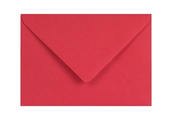 C6 Red Envelopes - Gummed - 120gsm - 2