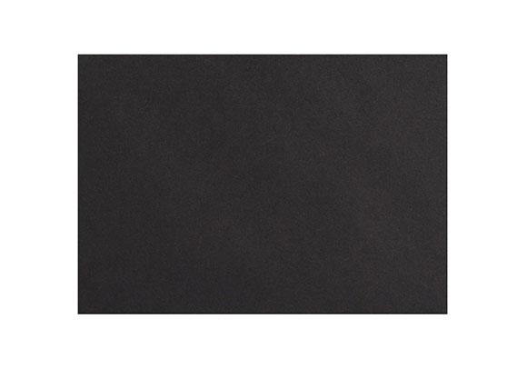 C6 Black Envelopes - Gummed - 120gsm